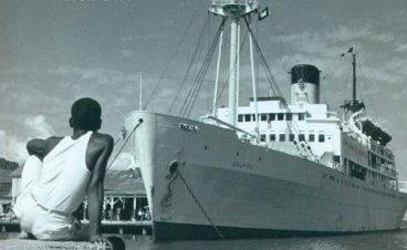 Hispaniola 11 c  bananfartyg
